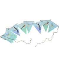 Vimpel - Flag guirlande, Havens fugle