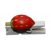 Træklemmer - Mellem, Jordbær