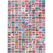 Plakat Verdensflag