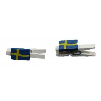 Træklemmer - Små flag, Sverige