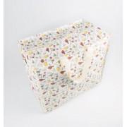 Opbevaringspose - Jumbo taske Fugleliv, Str. L