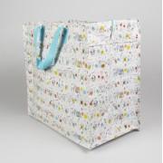 Opbevaringspose - Jumbo taske Dyr & bogstaver, Str. L
