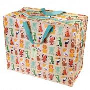 Opbevaringspose - Jumbo taske Exotiske Dyr, Str. XL