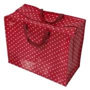 Opbevaringspose - Jumbo taske Rød retrospot, Str. XL