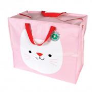 Opbevaringspose - Jumbo taske Katten Kit, Str. XL