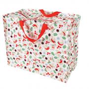 Opbevaringspose - Jumbo taske Nordisk jul, Str. XL
