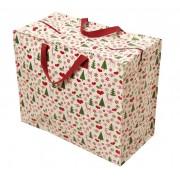 Opbevaringspose - Jumbo taske 50'er Jul, Str. XL