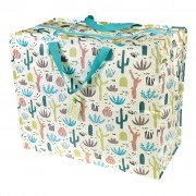 Opbevaringspose - Jumbo taske Kaktusser i ørkenen Str. XL