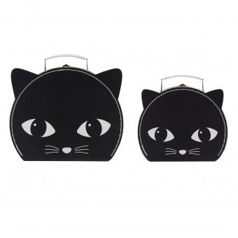 Kuffertsæt - Den sorte kat