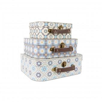 Kuffert - Pastel Mosaik