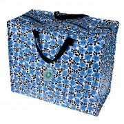Opbevaringspose - Jumbo taske Betty den blå blomst Str. XL