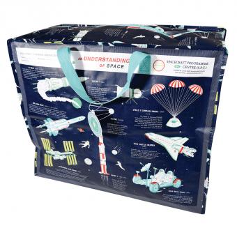Opbevaringspose - Jumbo taske Rumrejsen, Str. XL