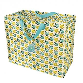 Opbevaringspose - Jumbo taske Forelskede fugle, Str. XL