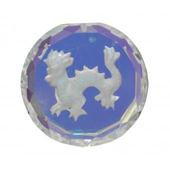 Swarovski blykrystal prisme, rund drage