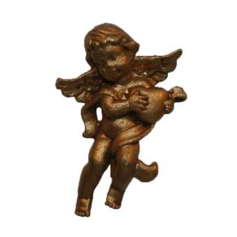 Broche, engel guld